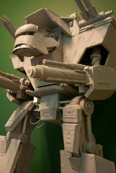 40K Lucius Warlord Titan by Blackadderz