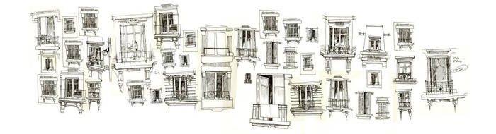 windows by mathilde