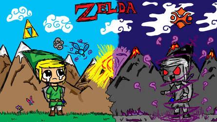Zelda Fan Art by Eternalshadow64