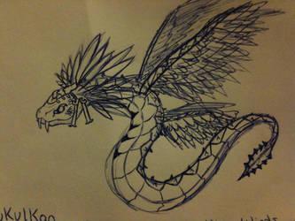 Kukulkan Fan Art by Eternalshadow64