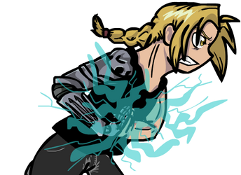 Edward Elric - Fan art by Eternalshadow64