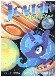 Jovian Satellites by Jopiter