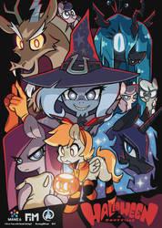 Halloween in Ponyville by Jopiter