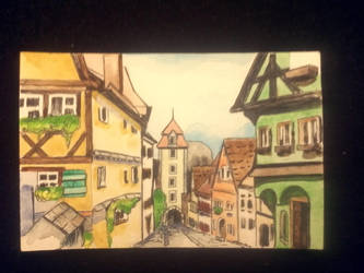Rothenburg ob der Tauber by BeBeArt219