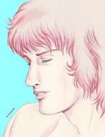 Daniel portrait by kizzychan