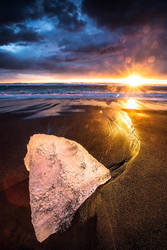 Dark Sky at Sunrise by cwaddell