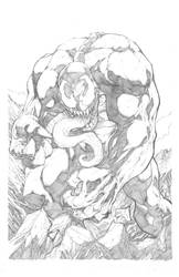 We are Venom pencils by hanzozuken