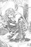 X-23 2013 pencils by hanzozuken