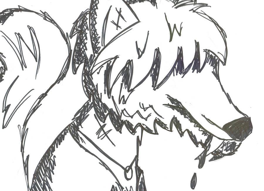 Dominic the Emo Teen Wolf by Phantom-Wolf42