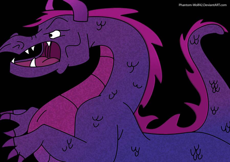 Steve, The Dragon Revamp by Phantom-Wolf42
