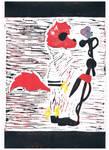 Marty and Tyran Lino Print #2 by Phantom-Wolf42