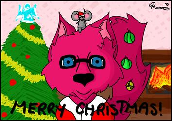 A Very Marty and Tyran Christmas by Phantom-Wolf42