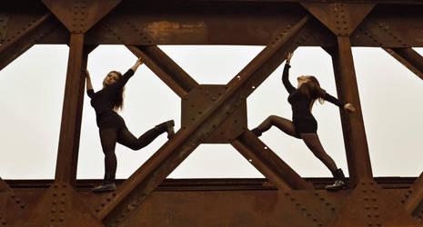 The bridge by Behind-walls