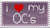 OC Love Stamp by rynoki