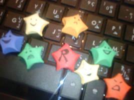 Origami Stars by radia-dz