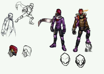 OC: Ultra Purple by razoremblem
