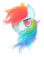 Rainbow Dash - Colours of Loyalty by creativelyEccentric