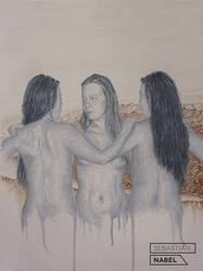 SAINTS FULL OF SIN by Sebastian-Nabel