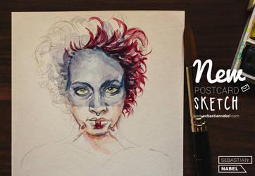 NEW POSTCARD SKETCH by Sebastian-Nabel