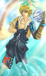 FFX: Tidus for Angel-sama by Chengy