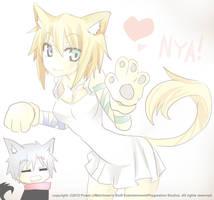 Neko Coin and Flour nyan nyan by Power-J