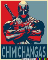Deadpool: Chimichangas by jokerjester-campos