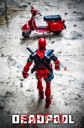 Deadpool x Akira by jokerjester-campos