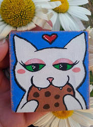 Kitty Loves Cookies by KatM0nster