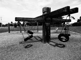 A Playground Fading II by NostalgiaPhotos