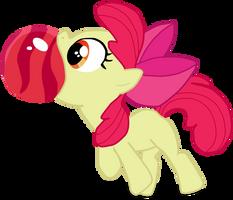 My second vector of Apple Bloom/CMC 2/3. by Flutterflyraptor