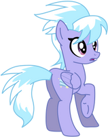 My third vector of Cloudchaser. by Flutterflyraptor