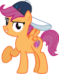 Tomboyish Scootaloo! by Flutterflyraptor