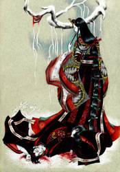 Empress' new dress (Kasane-no irome) by john-n-mary