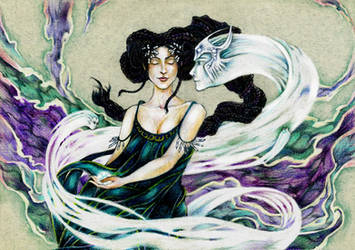 Whispering wind by john-n-mary