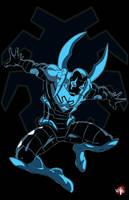 Blue Beetle by WiL-Woods