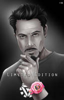 Limited Edition- Tony Stark Endorsed by WiL-Woods