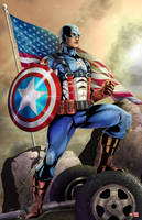 Captain America by WiL-Woods