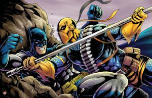 Batman Vs Deathstroke by WiL-Woods