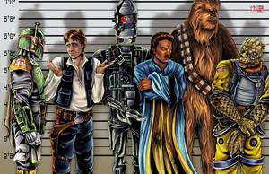 Star Wars The Usual Suspects by WiL-Woods