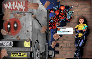 Deadpool 4th Wall by WiL-Woods
