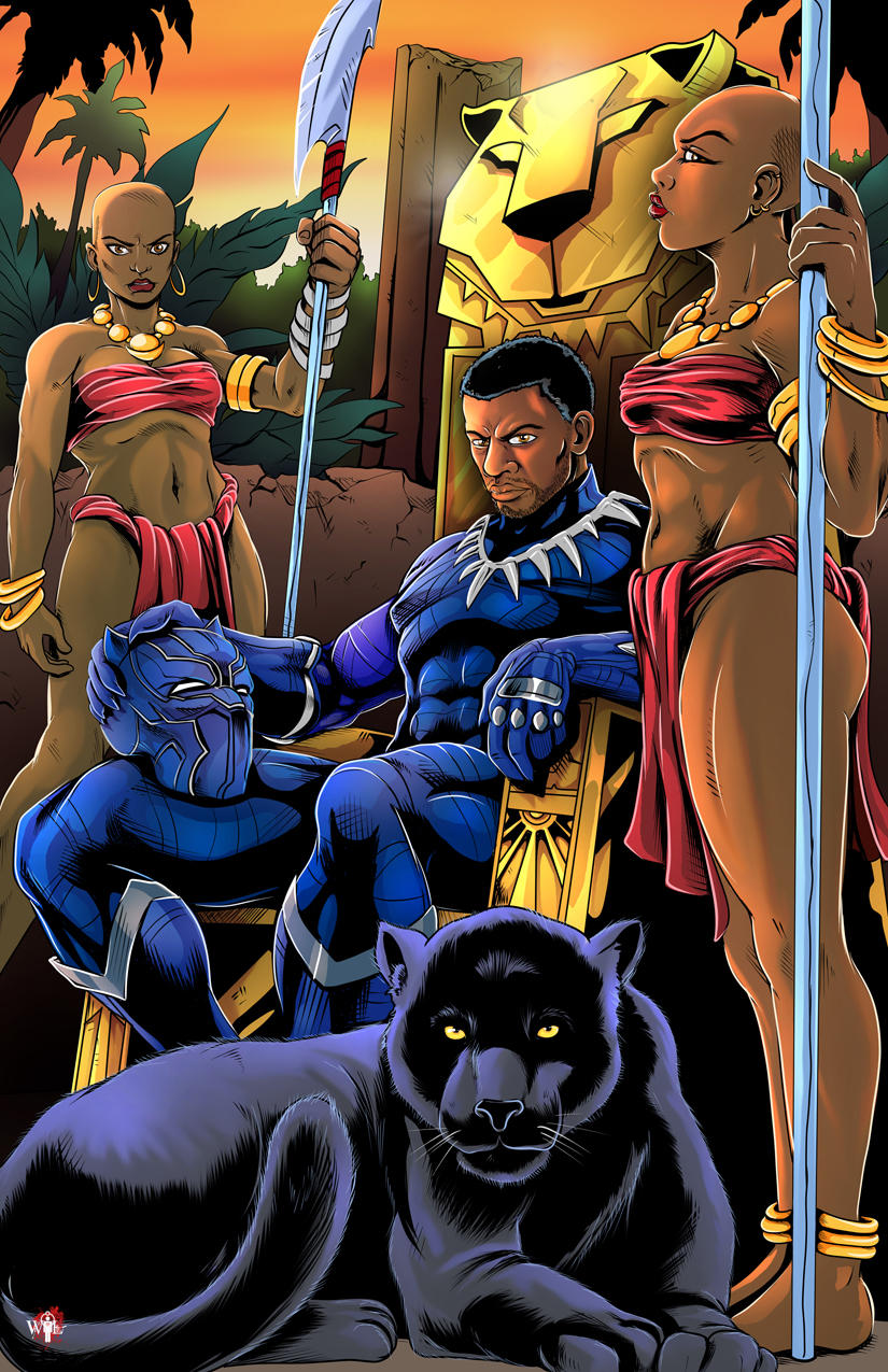 King T'Challa by WiL-Woods