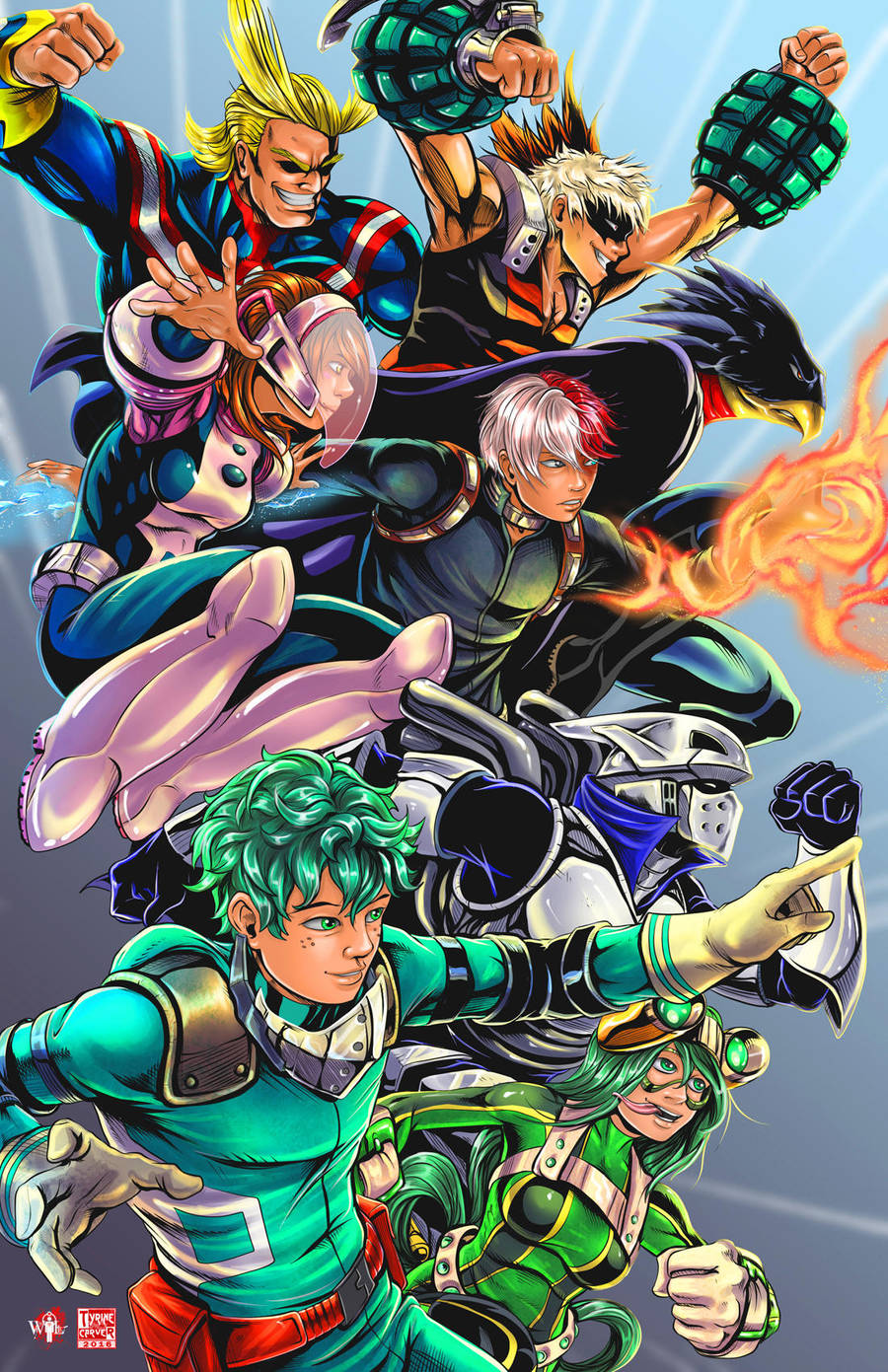 My Hero Academia by WiL-Woods