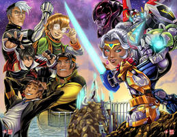Voltron 2016 by WiL-Woods