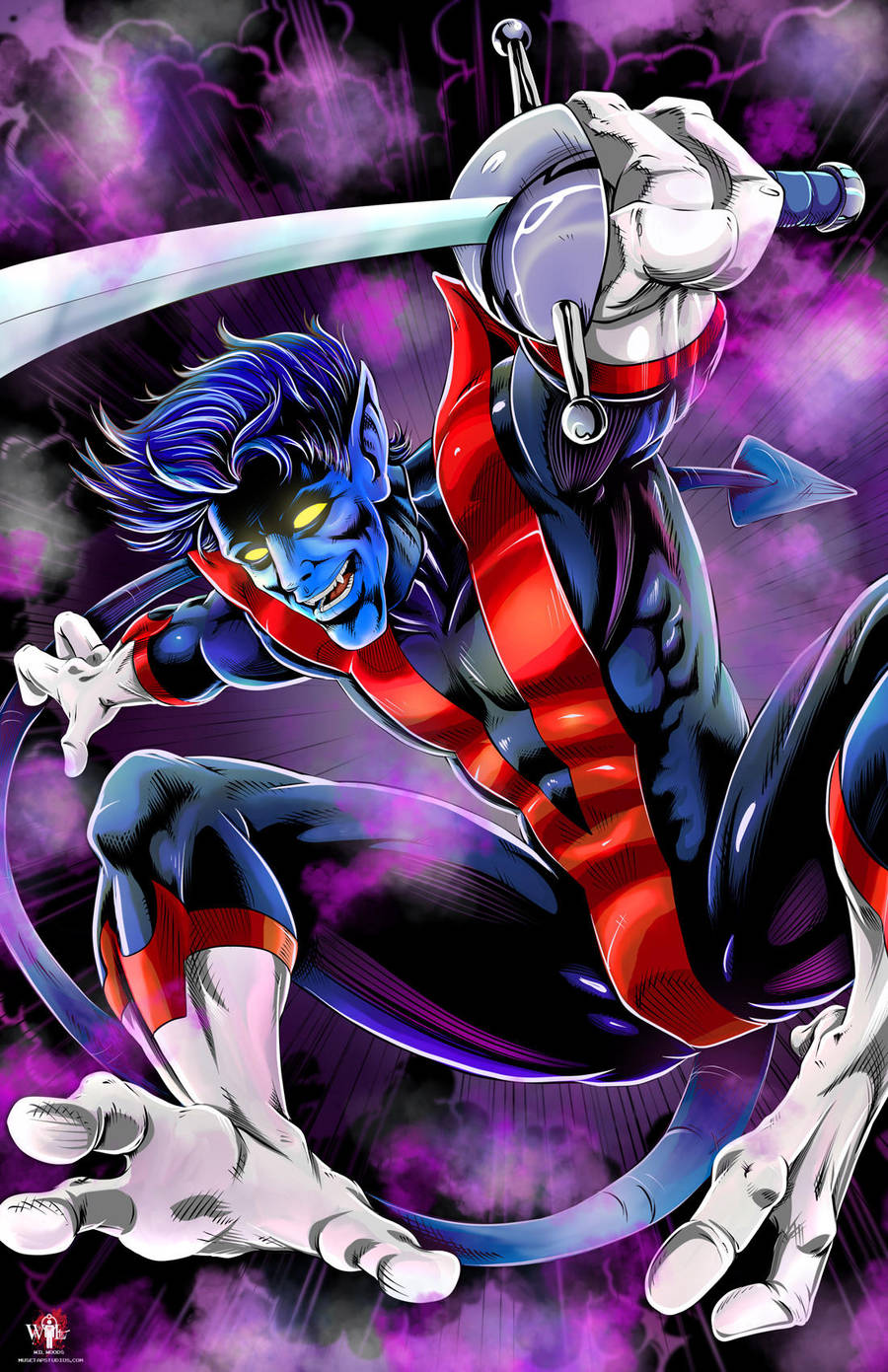 Marvel Nightcrawler 2017 by WiL-Woods