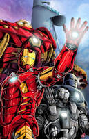 Marvel IronMan  by WiL-Woods