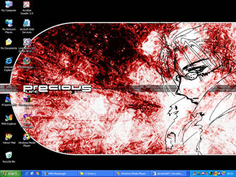 Desktop - Trigun by chibi-cherry-neko