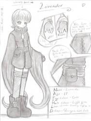 Character Sheet - Lavender by chibi-cherry-neko