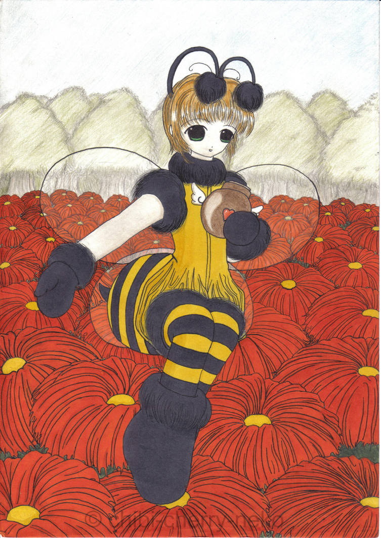 Bumblebee Sakura by chibi-cherry-neko