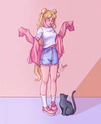 Usagi- Sailor Moon by Jessibrasilart