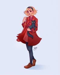 Sabrina Spellman by Jessibrasilart